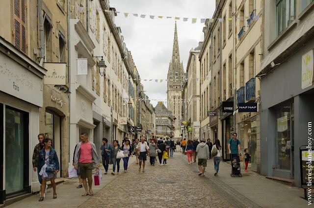 Quimper viaje Bretaña Normandia turismo