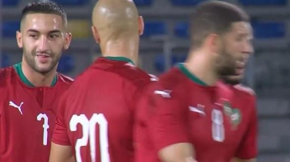 عناصر نهائية في CAN-2021: المغرب يتقدم في مواجهة وسط إفريقيا ، للكسر (3-1)