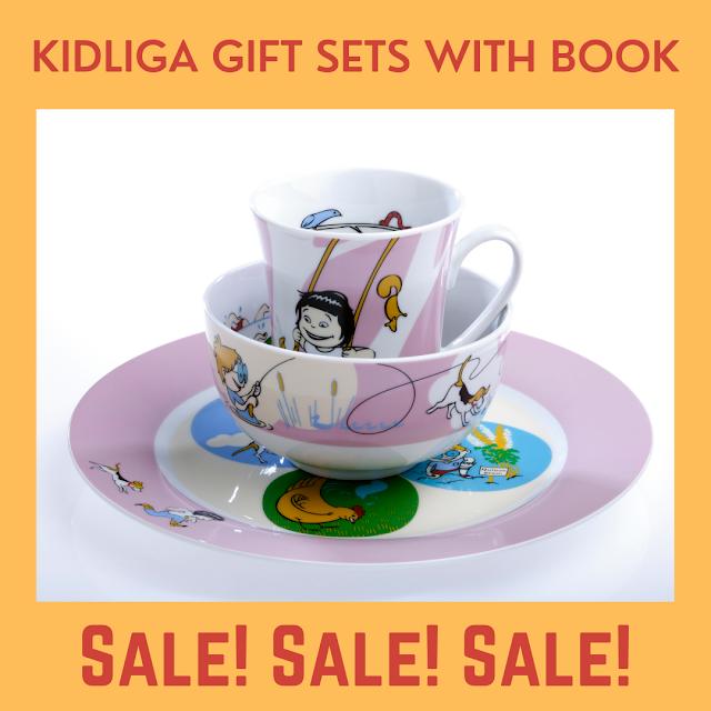 Kidliga on sale now!