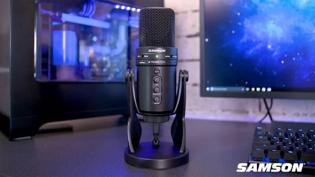 USB ไมโครโฟน Samson G-Track Pro USB Condenser Microphone