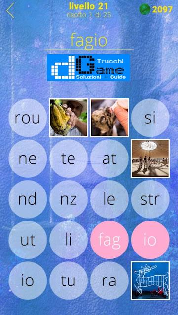 650 Foto soluzione pacchetto 21 livelli (1-25)