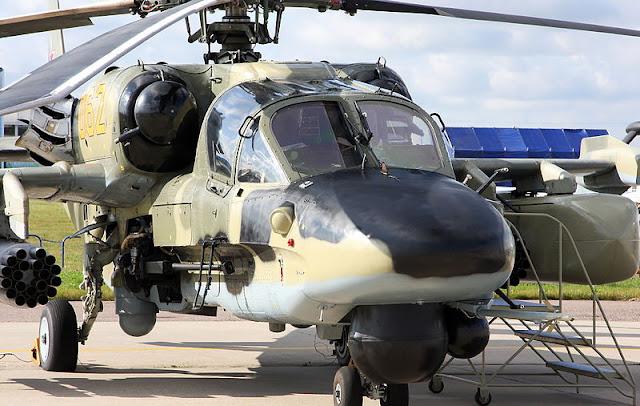 Gambar 17. Foto Helikopter Tempur Kamov Ka-52 Alligator