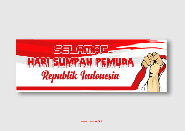 Download Banner Spanduk Hari Sumpah Pemuda