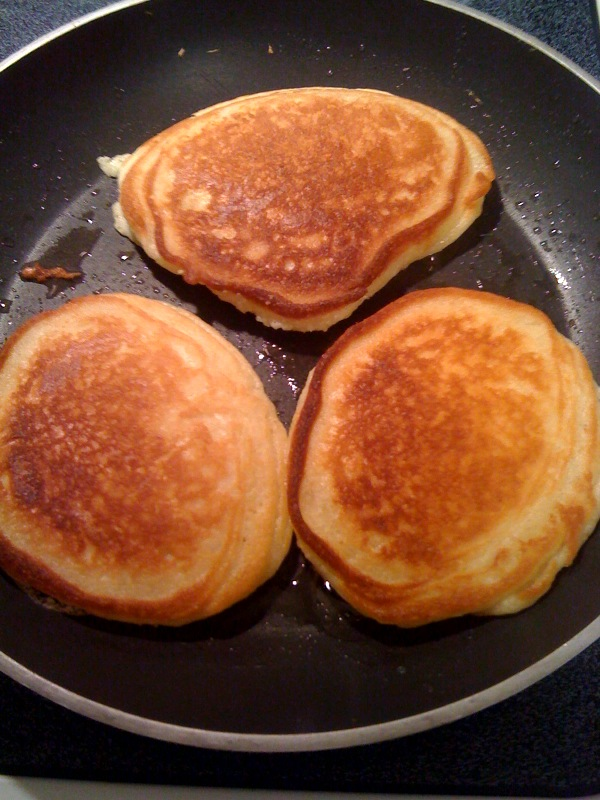 Pan Fried Hoe Cakes
