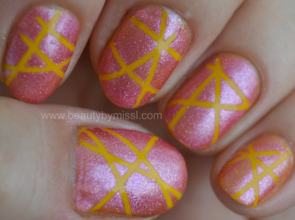 stripes, notd, nails of the day, Maybelline Colorama