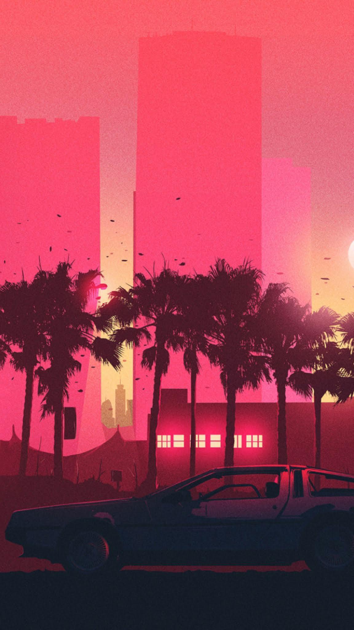 Vaporwave Iphone 11 Wallpaper