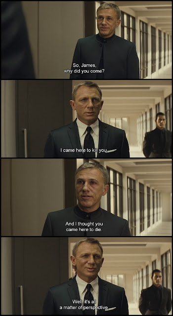 James Bond - Spectre Movie Quotes, escape matter