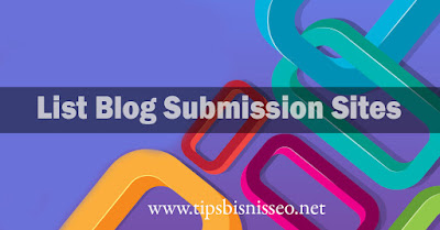 List Blog Submission Site High DA