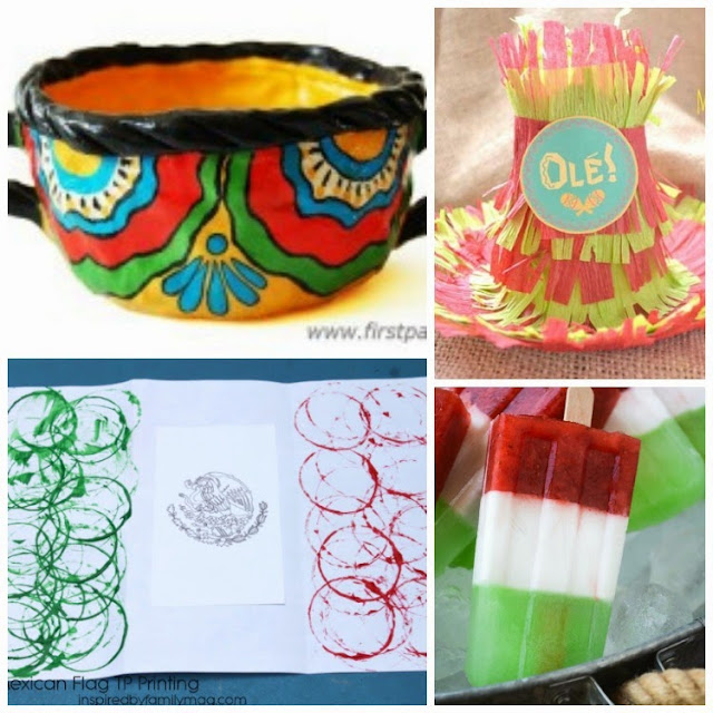 Cinco de Mayo Crafts and Snacks for Kids