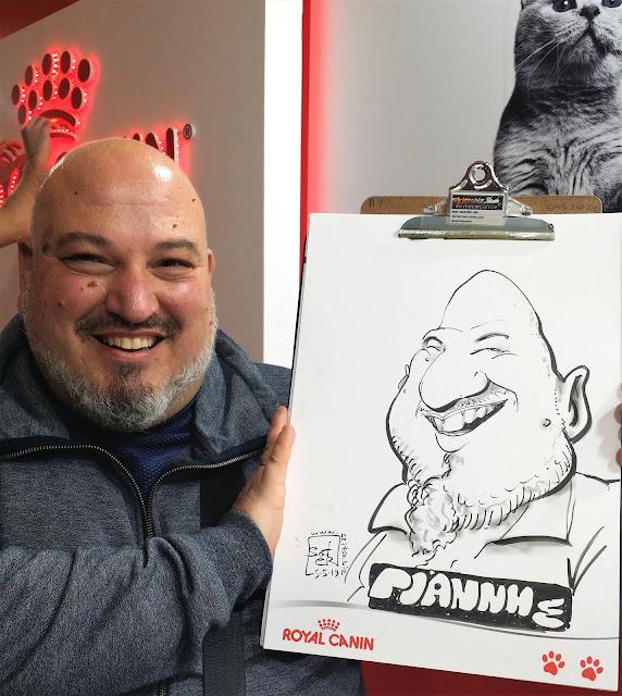 Σκίτσα καρικατούρες για γάτες και γάτους - festival all about cats