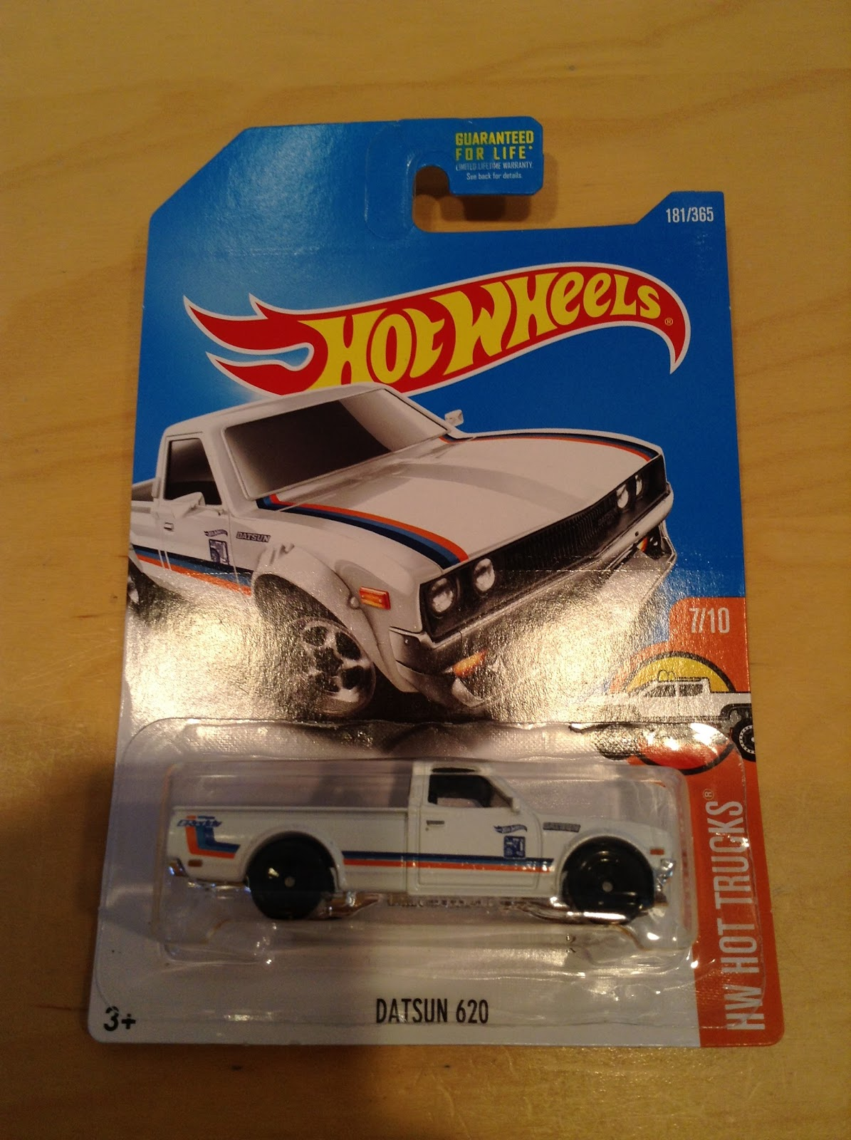 Julians Hot Wheels Blog Datsun 620 2017 Hw Trucks Hotwheels Red This Truck Looks Awesome In White With Black Rims What Do You Think Id Say The Presentation Is Superb Posted By