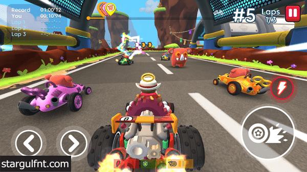 تحميل لعبة ستارليت Starlit On Wheels: Super Kart للأيفون والأندرويد XAPK