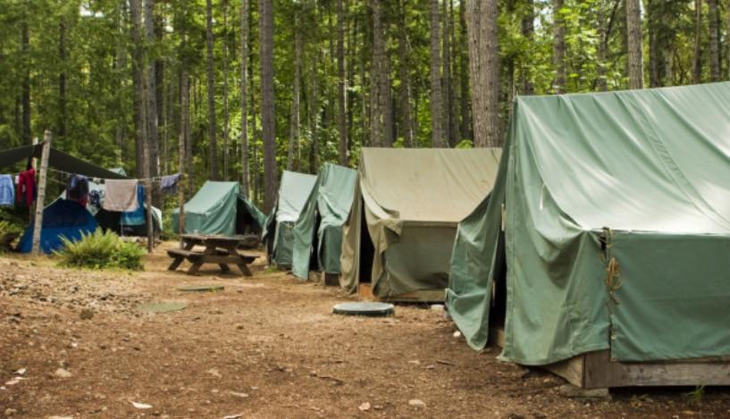 aktivitas camping pramuka