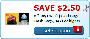picture relating to Glad Trash Bags Printable Coupon named Fresh $2.50 Satisfied Trash Luggage Coupon Offers and In the direction of-Dos
