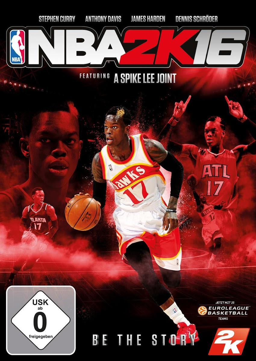 NBA 2K16 : Dennis Schröder on the German Cover