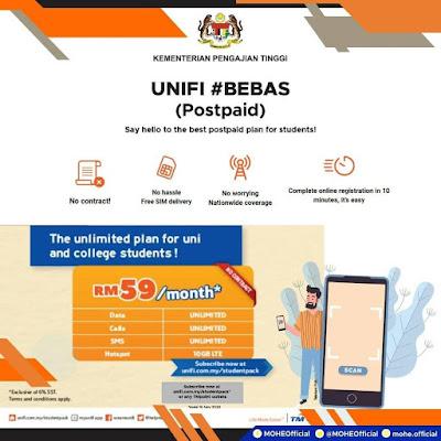 Permohonan Bantuan Pakej Pelan Data & Peranti Pelajar IPT B40 (Semakan Status)
