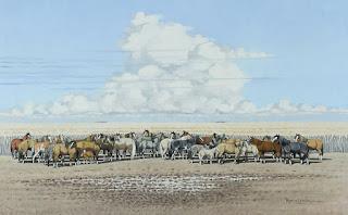 paisajes-con-caballos-criollos corceles-criollos-paisajes-pinturas