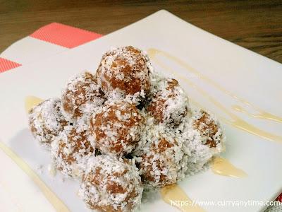 Dates Almond Truffles