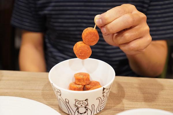 台南永康區美食【魔法咪嚕寵物主題餐廳】餐點介紹-套餐熱狗