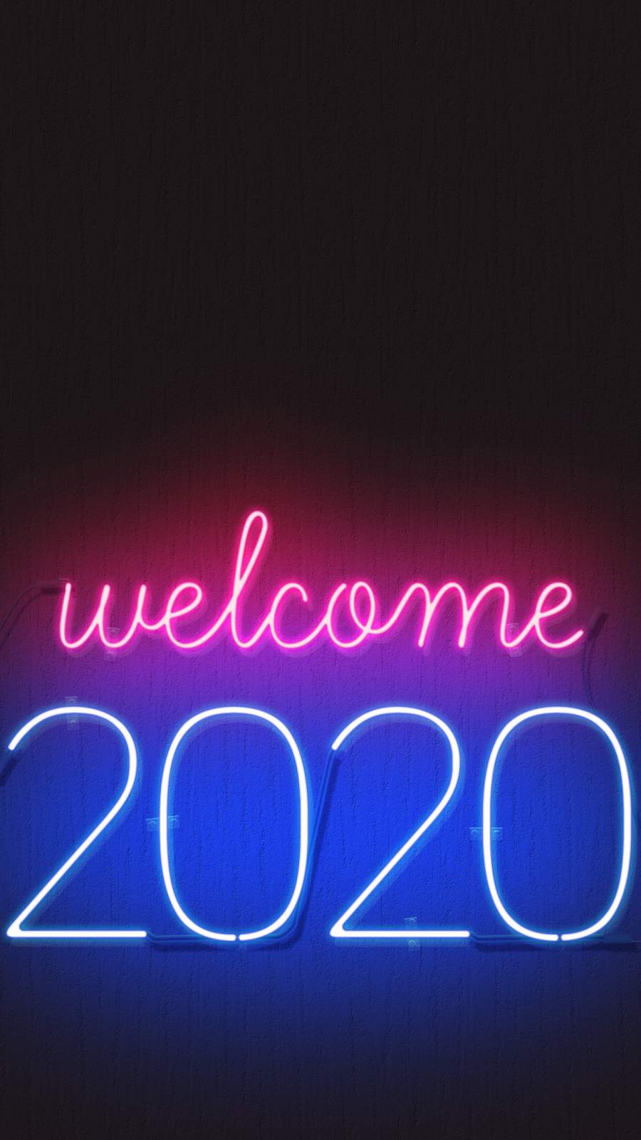 Welcome 2020 Happy New year Mobile Wallpaper