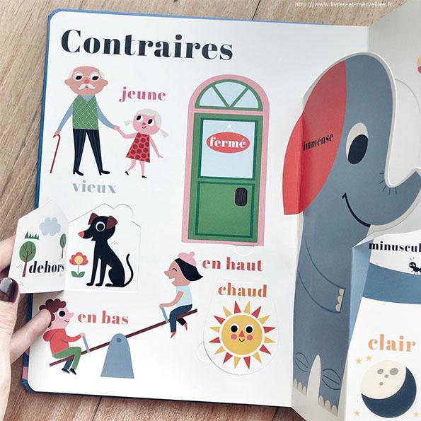 Compter, Couleurs, Contraires, Formes et moi ! de Ingela P. Arrhenius