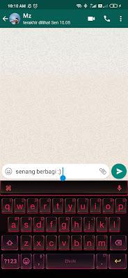 cara mengatasi whatsapp tidak bisa ketik pesan