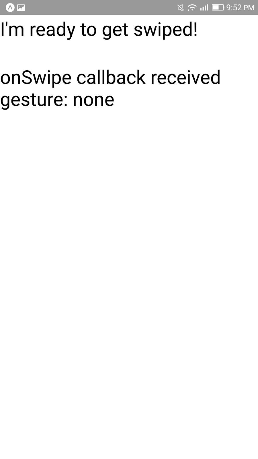 Chuanshuoge: react native swipe