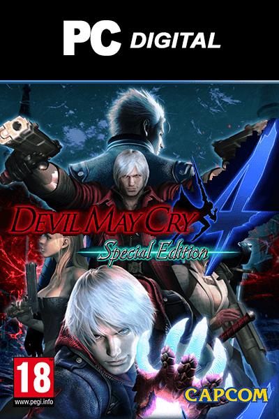 تحميل لعبة القتال Devil May Cry 4 Special Edition pc