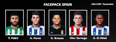 PES 2021 Facepack Spain by Alfra1507