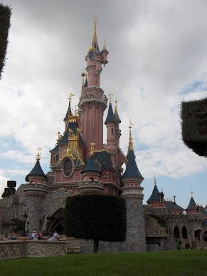Disneyland - Castillo de la bella durmiente