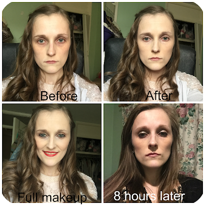 before and after maybelline dream velvet matte foundation