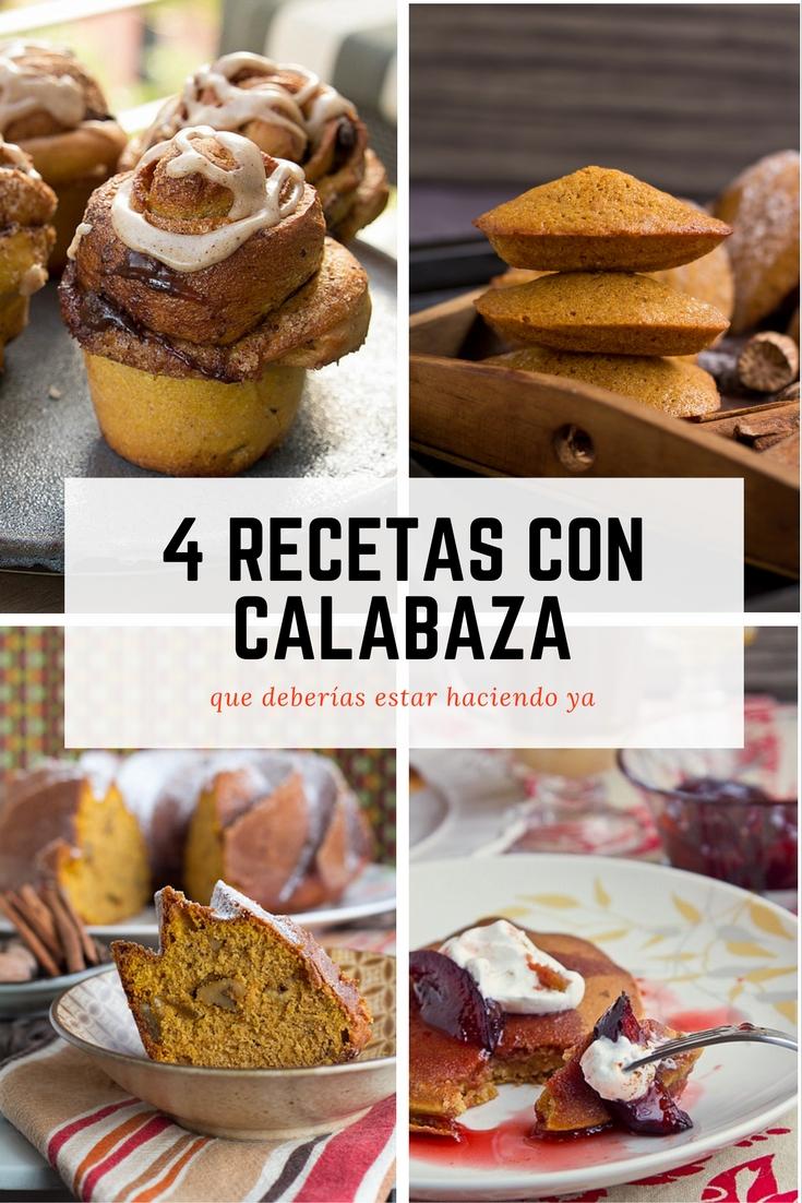 El gato goloso: recetas con calabaza / pumpkin recipes