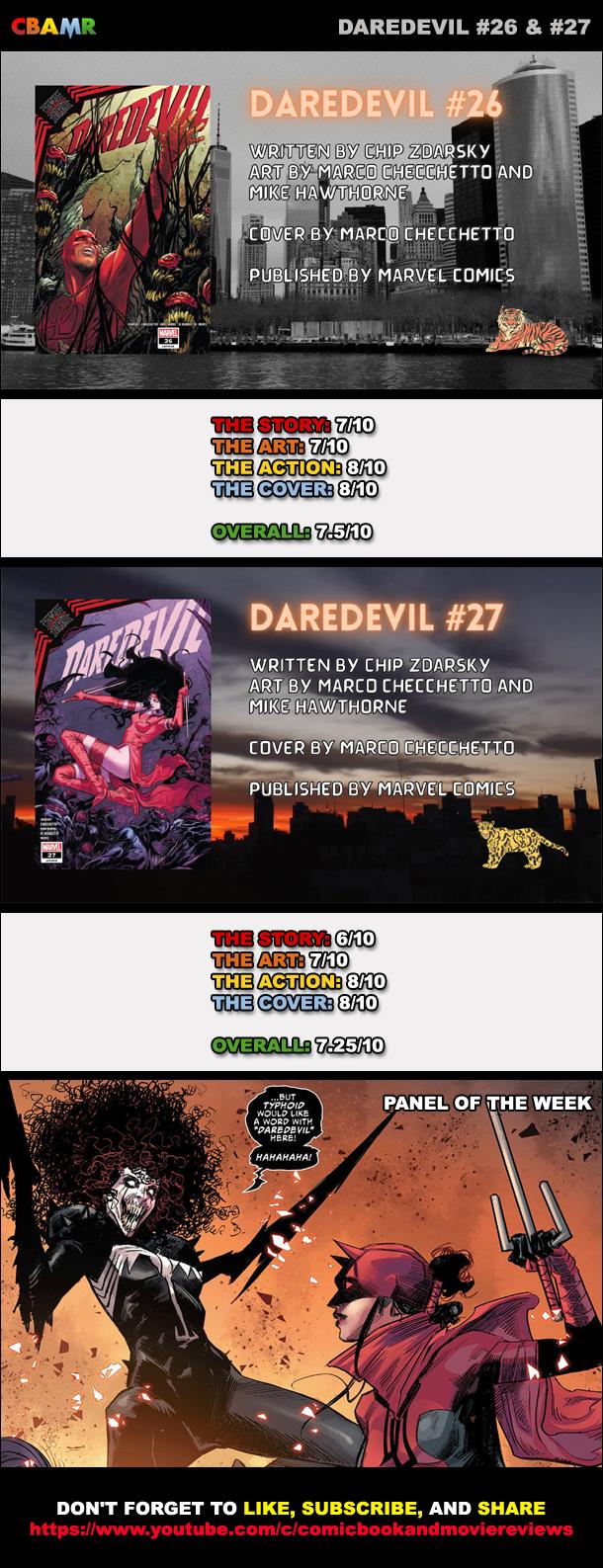Daredevil 26 & 27
