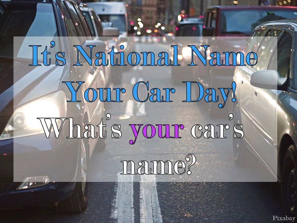 National Name Your Car Day Wishes Unique Image