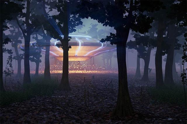 UFO che atterra nella foresta di notte: Questa è la storia degli avvistamenti UFO nella foresta di Rendlesham!