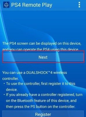 PS4 Remote Play | Kuze Android