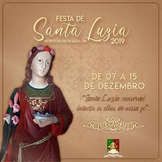 Em Picuí, Distrito de Santa Luzia do Seridó se prepara para realizar sua Festa da Padroeira