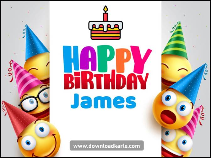 Happy Birthday James Cake Images Memes And Wishes