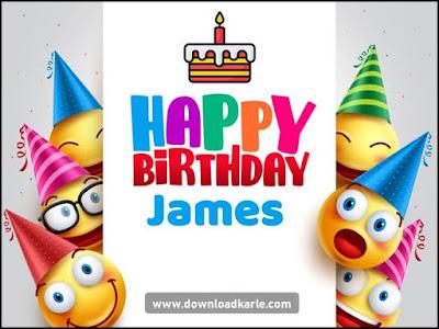 happy birthday james images