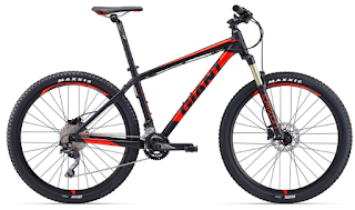Stolen Bicycle - Giant Talon 1