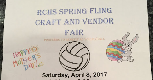 Craft Fair on April 8th!!!