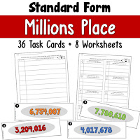 Standard Form Millions Place
