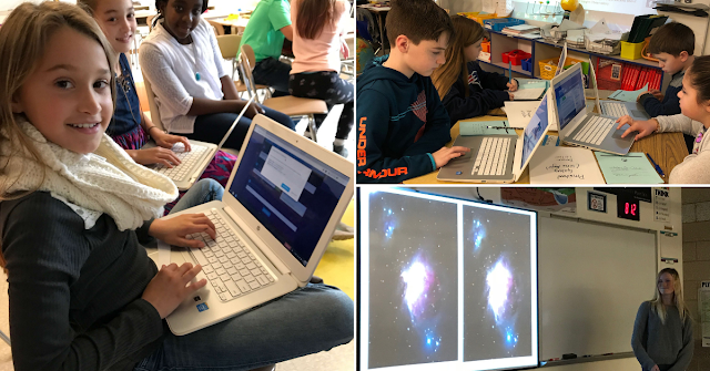 Students Submitting and Presenting Image Requests using Insight Observatory's Education Image Request Form (EIR).