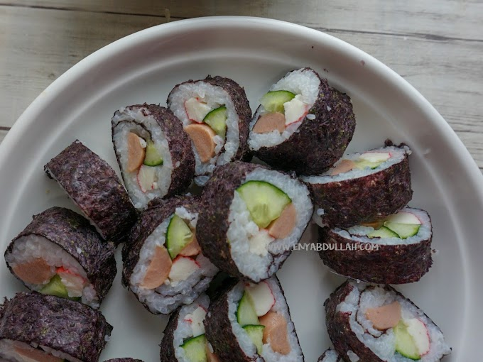 Cara Mudah Dan Murah Buat Sushi
