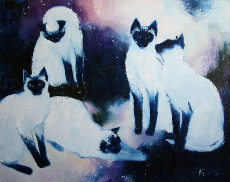 Contemporary cat art: 6 top picks