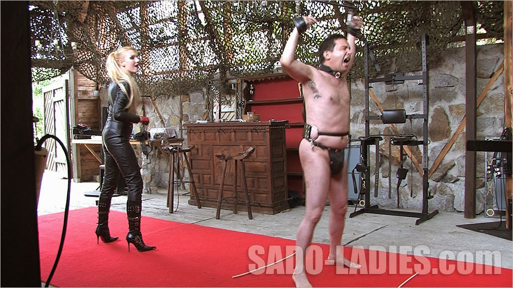 That Is A Severe Whipping This Film Is For The Ones Who Love All Leathered Amazons And Cruel Punishments