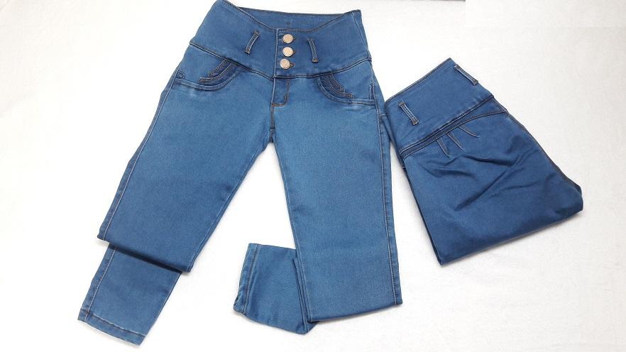 Modelo # 07 – Tono Azul Medio con Pretina Ancha