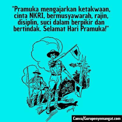 Gambar Ucapan Selamat Hari Pramuka Indonesia (8)