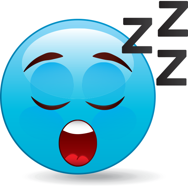 Sleeping emoji