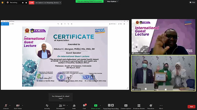 Prodi FKM UMI Gelar International Guest Lecture Di Makassar